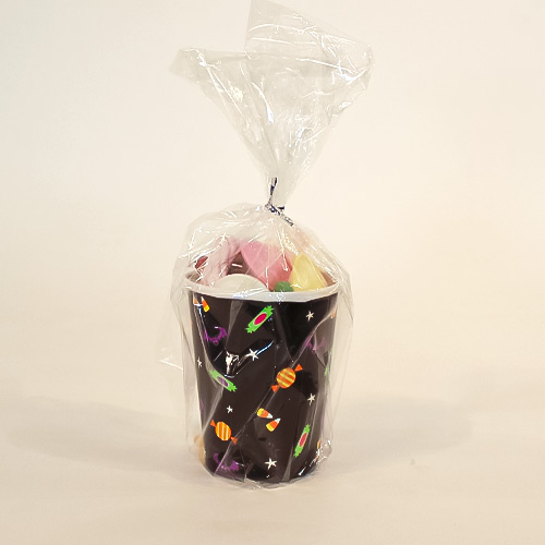 Cat & Pumpkin Halloween Candy Cup 155g Product Image