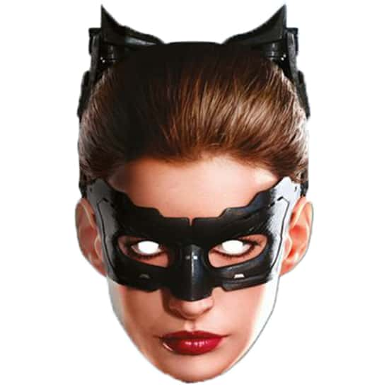 Batman Catwoman Celebrity Cardboard Face Mask Product Image