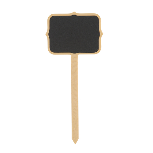 Chalkboard Food Sign Picks with Chalk - Pack of 4