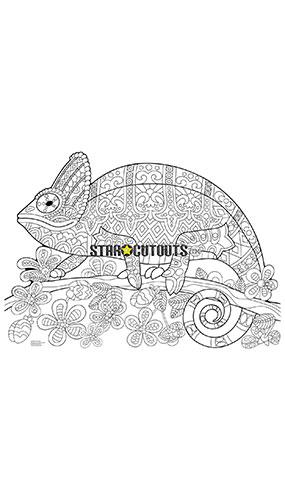 Chameleon Design Colour Craft Star Mini Cardboard Cutout 68cm