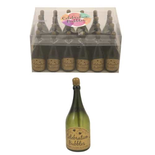 Champagne Bottle Bubble - 32ml - Pack of 24