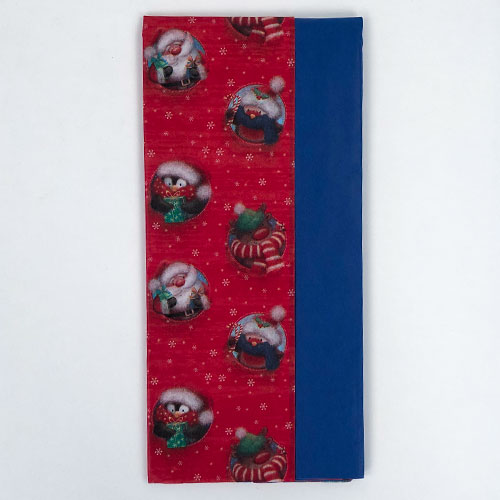 Assorted Characters Christmas Tissue Paper - Pack of 10 Product Image