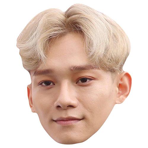 Exo Chen Kim Jong-dae Cardboard Face Mask Product Image
