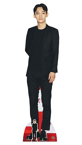 Exo Chen Kim Jong-da Lifesize Cardboard Cutout 178cm Product Image
