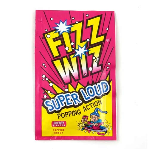 Cherry Flavour Fizz Wiz Sweet Popping Candy 5g         Product Image