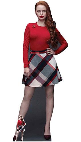 Cheryl Blossom Riverdale Madelaine Petsch Lifesize Cardboard Cutout 169cm Product Image