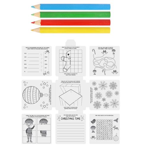 Children's Christmas Activity Pack Product Image