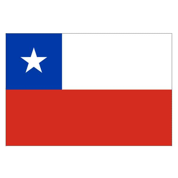 Chile Flag - 5 x 3 Ft