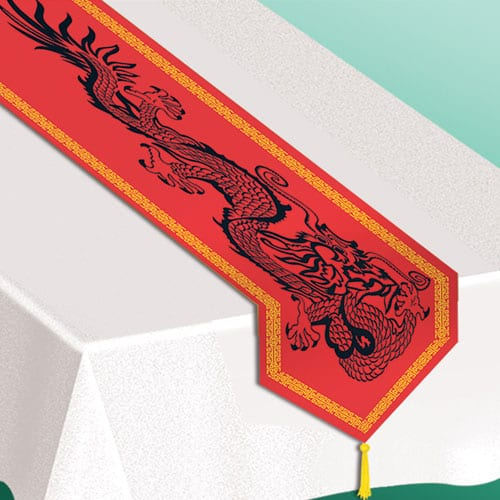 Chinese Printed Table Runner - 183cm Product Image