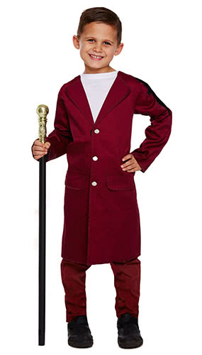 Chocolate Man Children Fancy Dress Costume 10-12 Years - Large Product Image