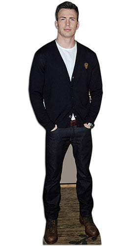 Chris Evans Lifesize Cardboard Cutout - 183cm Product Image