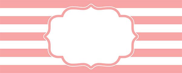 Christening Pink Design Medium Personalised Banner – 6ft x 2.25ft