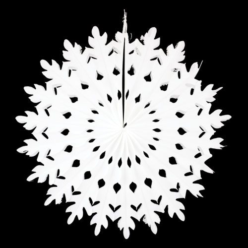 Christmas 3D Snowflake Hanging Decoration 50cm Product Image