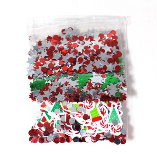 Christmas Table Confetti Value Pack 34 Grams - Pack of 3 Product Image