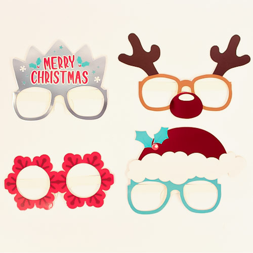 Christmas Glasses - Pack of 4 Product Image