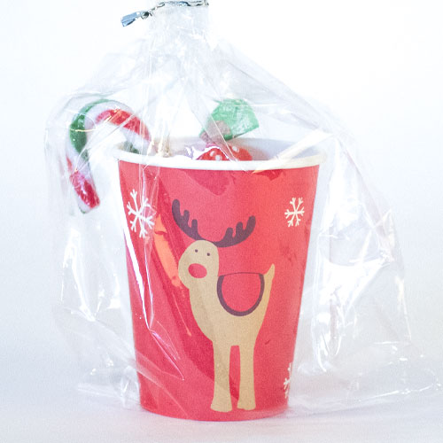 Christmas Rocking Rudolf Value Candy Cup Product Image