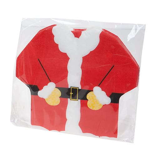Christmas Santa Suit Luncheon Napkins 33cm 2Ply - Pack of 20