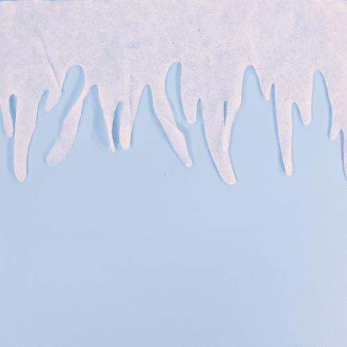Christmas Snow Garland 100cm Product Image