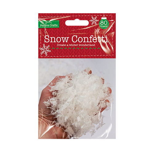 Christmas Snow Table Confetti 80g