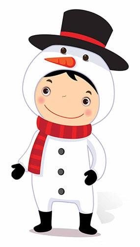 Christmas Snowman Mini Cardboard Cutout - 88cm Product Image