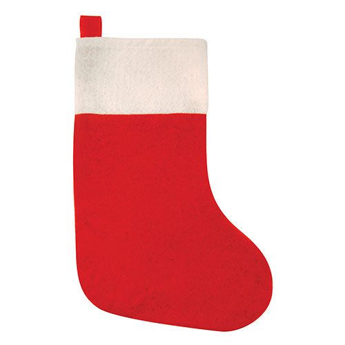 Red Christmas Stocking 37cm Product Image