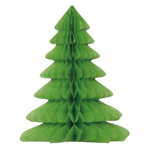 Christmas Tree Honeycomb Decoration - 30cm Product Image