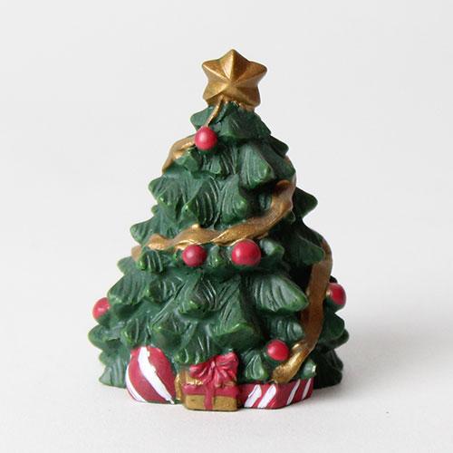 Christmas Tree Resin Cake Topper Decoration 5cm