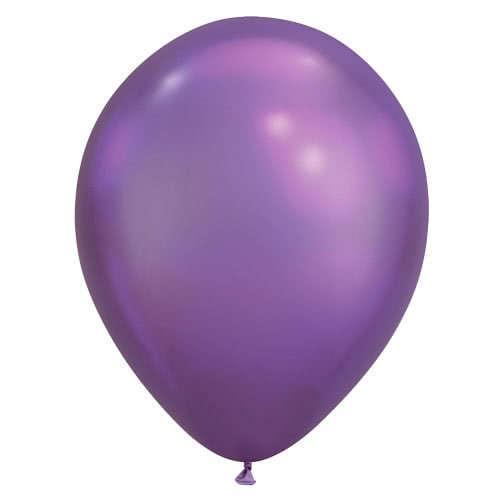 Chrome Purple Latex Qualatex Balloon 28cm / 11 in Product Image
