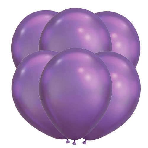 Chrome Purple Latex Qualatex Balloons 28cm / 11 in - Pack of 100 Product Image