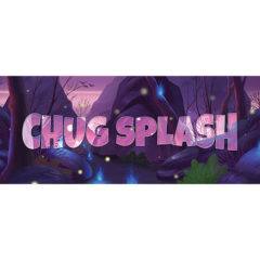 Chug Splash Forest Background PVC Party Sign Decoration 60cm x 25cm Product Image