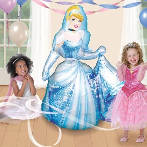 Cinderella Airwalker Foil Helium Balloon 121cm / 48 Inch