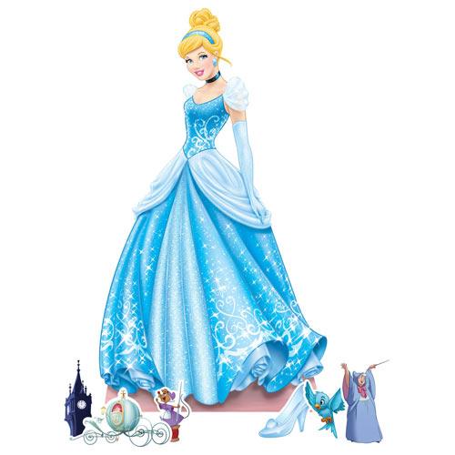 Cinderella Cardboard Cutouts Decoration Kit