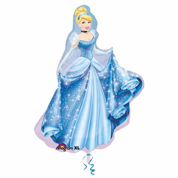 Cinderella Princess Helium Foil Giant Balloon 71cm / 28 in