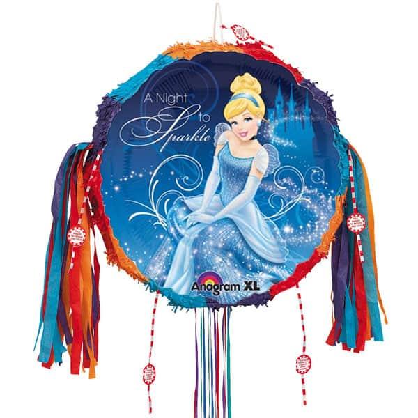 Cinderella Pull String Pinata Product Image