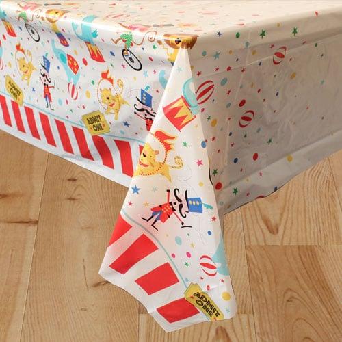 Circus Carnival Plastic Tablecover 213cm x 137cm Bundle Product Image
