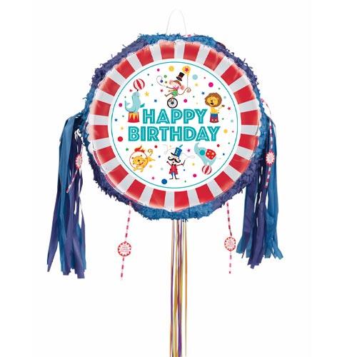 Circus Carnival Pull String Pinata