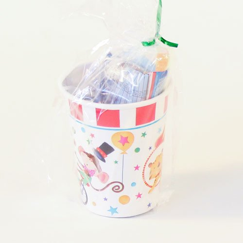 Circus Carnival Toy And Candy Cup Product Image