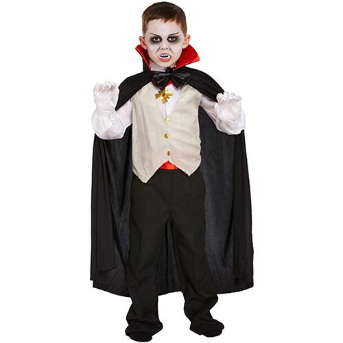 Vampire Costume 7-9 Years Halloween Children Fancy Dress Product Image
