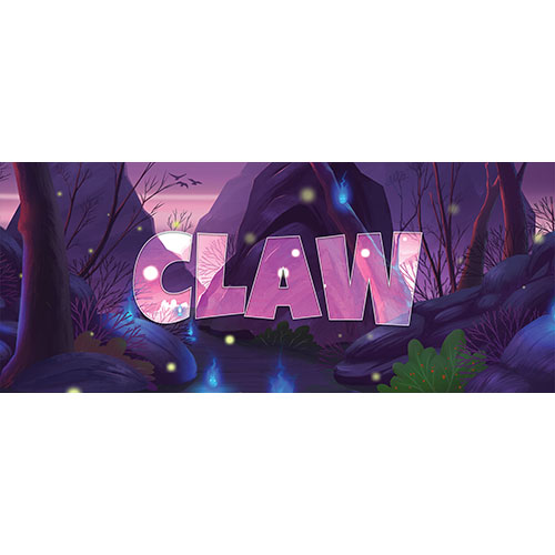 Claw Forest Background PVC Party Sign Decoration 60cm x 25cm Product Image