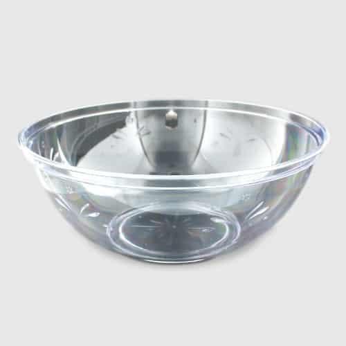 Clear Plastic Serving Bowl - 30cm