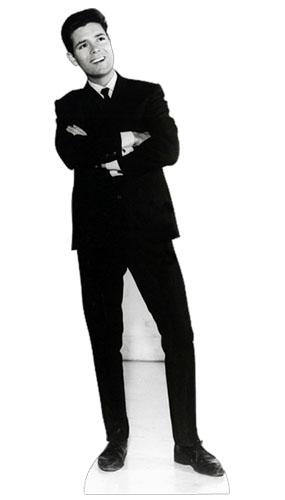 Cliff Richard Black & White Lifesize Cardboard Cutout - 178cm Product Image
