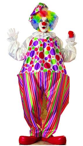 Clown Lifesize Cardboard Cutout - 190cm Product Image