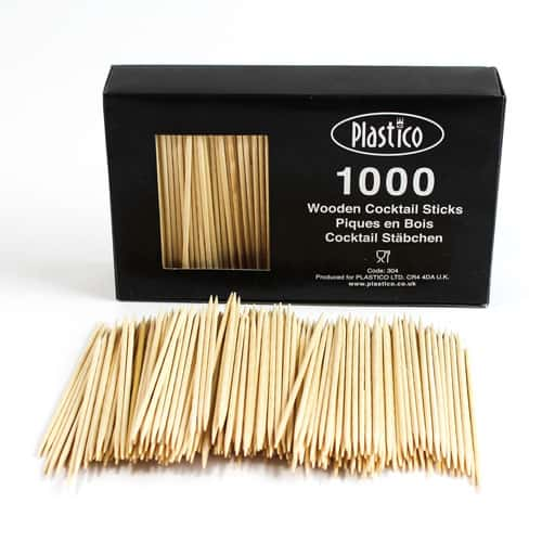 Cocktail Sticks 80mm Pack Of 1000 Product Image