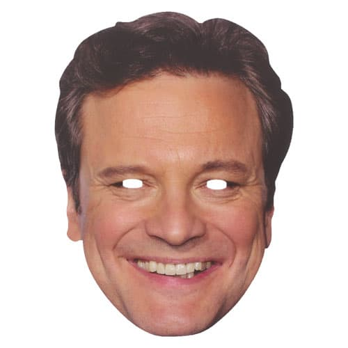 Colin Firth Cardboard Face Mask Product Image