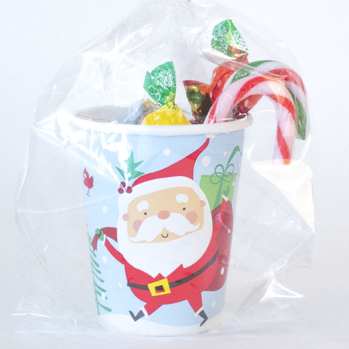 Colourful Santa Christmas Candy Cup Product Image