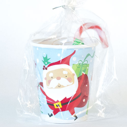 Colourful Santa Christmas Value Candy Cup Product Image