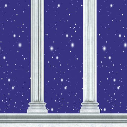 Column Backdrop Scene Setter Room Roll 9.1m x 1.2m