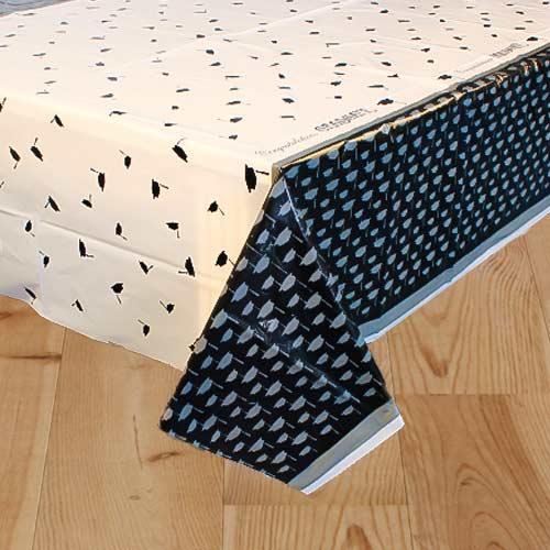 Congratulations Graduate Plastic Tablecover 213cm x 137cm