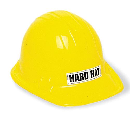Construction Plastic Helmet Fancy Dress