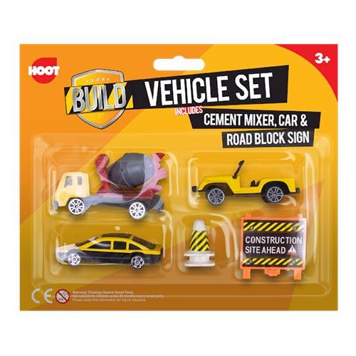 Construction Vehicles Toys Playset